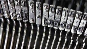 Maszyna w akci podczas brulionowości list Obrazy Stock