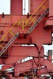 Maszyna w zbiornika towarowym jardzie Obrazy Stock