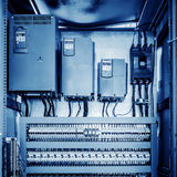 Maszyneria kontrolny pokój Zdjęcie Stock