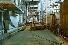 maszynerii drymb parowe tubki turbinowe obraz stock