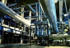 maszynerii drymb parowe tubki turbinowe zdjęcia royalty free