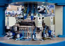 maszynowa tkanina Zdjęcie Royalty Free