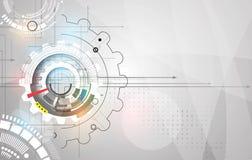 Maszynowe technologii przekładnie retro gearwheel mechanizmu bacground Obrazy Royalty Free