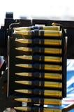 Maszynowego pistoletu amunicje WW II Obrazy Royalty Free