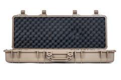 Maszynowego pistoletu pudełka Miękka Bezpiecznie Składowa skrzynka odizolowywająca Fotografia Royalty Free