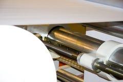 maszynowy druk Zdjęcie Stock