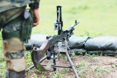 Maszynowy pistolet Obraz Stock
