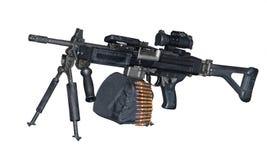 Maszynowy pistolet Zdjęcie Stock