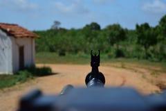 Maszynowy pistolet zdjęcie royalty free