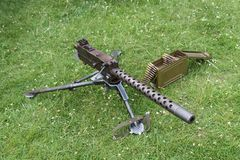 Maszynowy pistolet Obrazy Stock
