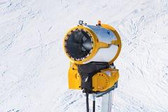 Maszynowy pistolet snowmaking Obrazy Stock