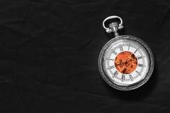 maszynowy stary zegarek Zdjęcie Stock