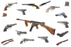 Maszynowy Thompson pistolet Fotografia Royalty Free