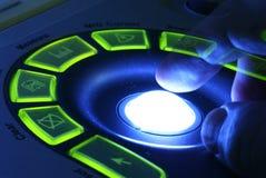 maszynowy ultradźwięk Zdjęcia Stock