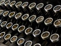 maszynowy writing Zdjęcia Royalty Free