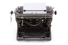 maszyny do pisania Zdjęcia Royalty Free