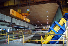 maszyny fourdrinier młyna masy papierniczej Zdjęcie Royalty Free