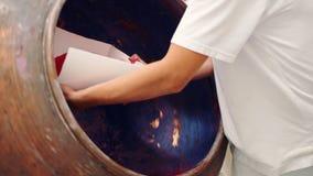 Maszyny miesza galaretowego ciecz dla cukierków Cukierek fabryka zdjęcie wideo