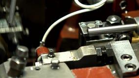 Maszyny, oś, tubka, wyciek ropy zbiory wideo