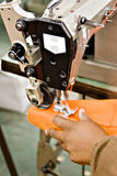 maszyny przemysłowe szyć Fotografia Royalty Free