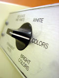 maszyny przycisków wyprać Zdjęcia Royalty Free