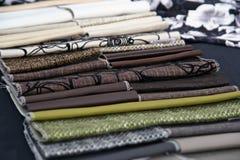 Matéria têxtil Fotografia de Stock