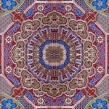 Matéria têxtil asiática Fotografia de Stock Royalty Free