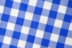 Matéria têxtil azul Fotografia de Stock