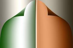 Matéria têxtil colorida Fotografia de Stock Royalty Free