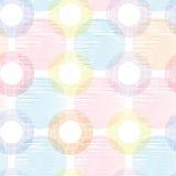 A matéria têxtil colorida circunda o alinhador longitudinal sem emenda Fotografia de Stock