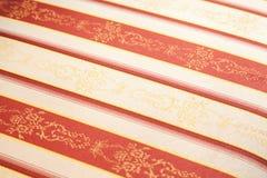 Matéria têxtil da tela do vintage Fotos de Stock