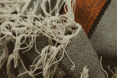 A matéria têxtil da tela rosqueia o fundo Imagem de Stock