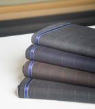 Matéria têxtil das telas Amostra do tecido de algodão Fotografia de Stock Royalty Free