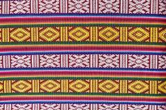 Matéria têxtil de Butão Foto de Stock