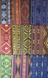 Matéria têxtil de Lombok Fotografia de Stock