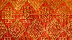 Matéria têxtil de Tailândia ilustração stock