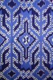 Matéria têxtil de Torajan foto de stock