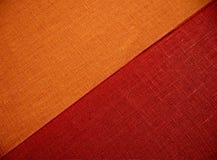 Matéria têxtil diagonal da cor, close up do fundo, Fotos de Stock Royalty Free
