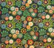 Matéria têxtil do vintage Imagens de Stock Royalty Free