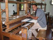 Matéria têxtil dominiquense Fotografia de Stock Royalty Free