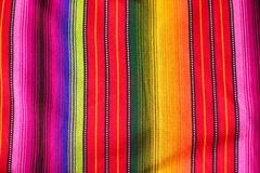 Matéria têxtil guatemalteca de pano Foto de Stock Royalty Free