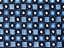 Matéria têxtil manchada Imagens de Stock Royalty Free