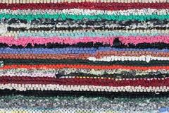 Matéria têxtil rústica Fotografia de Stock