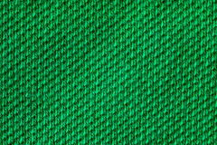 Matéria têxtil verde Imagens de Stock