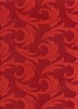 Matéria têxtil - vermelho Ilustração Royalty Free