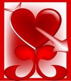 Matérias do coração Fotos de Stock