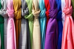 Matérias têxteis coloridas Imagem de Stock