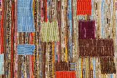 Matérias têxteis do fundo foto de stock royalty free