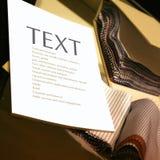 Matérias têxteis na loja Foto de Stock