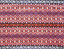 Matérias têxteis tailandesas antigas imagens de stock